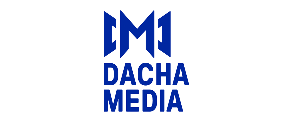 New Logo and Identity for Dacha Media by Startling Brands
