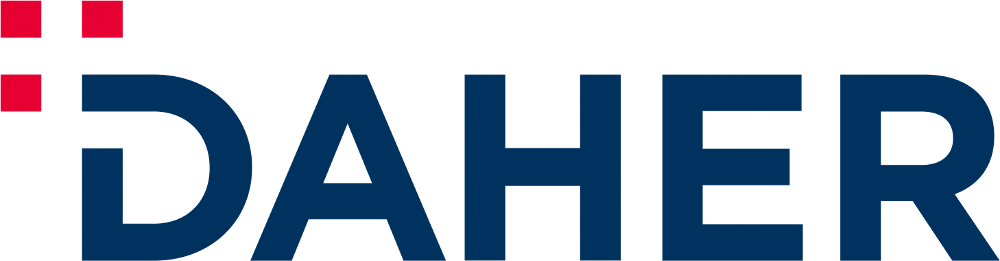 New Logo and Identity for Daher by CBA