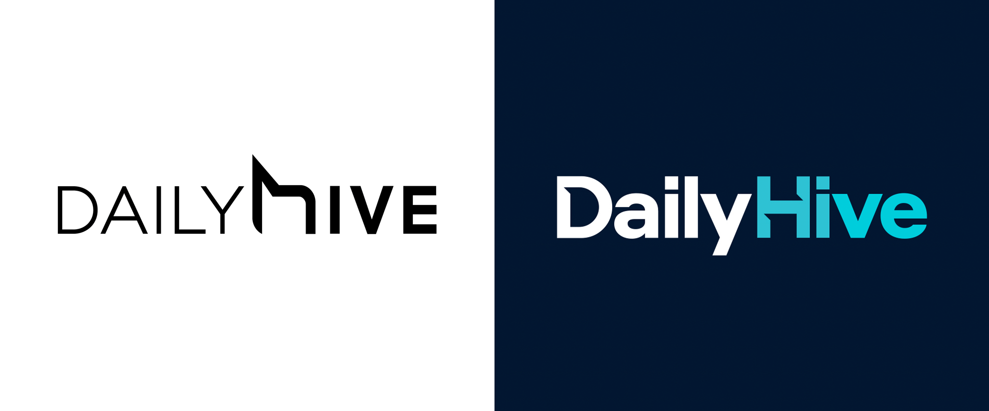 New Logo for Daily Hive by Colony