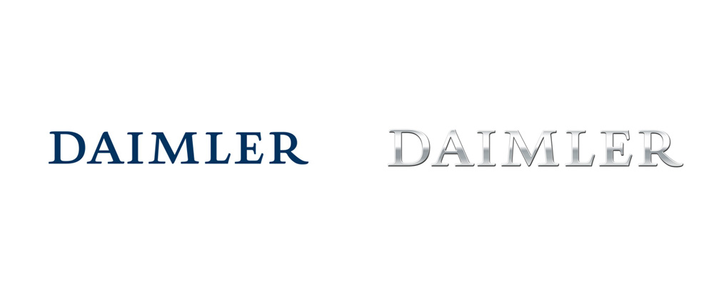 New Logo and Identity for Daimler AG