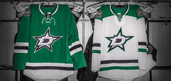 Dallas Stars Logo, Identity, and Uniforms