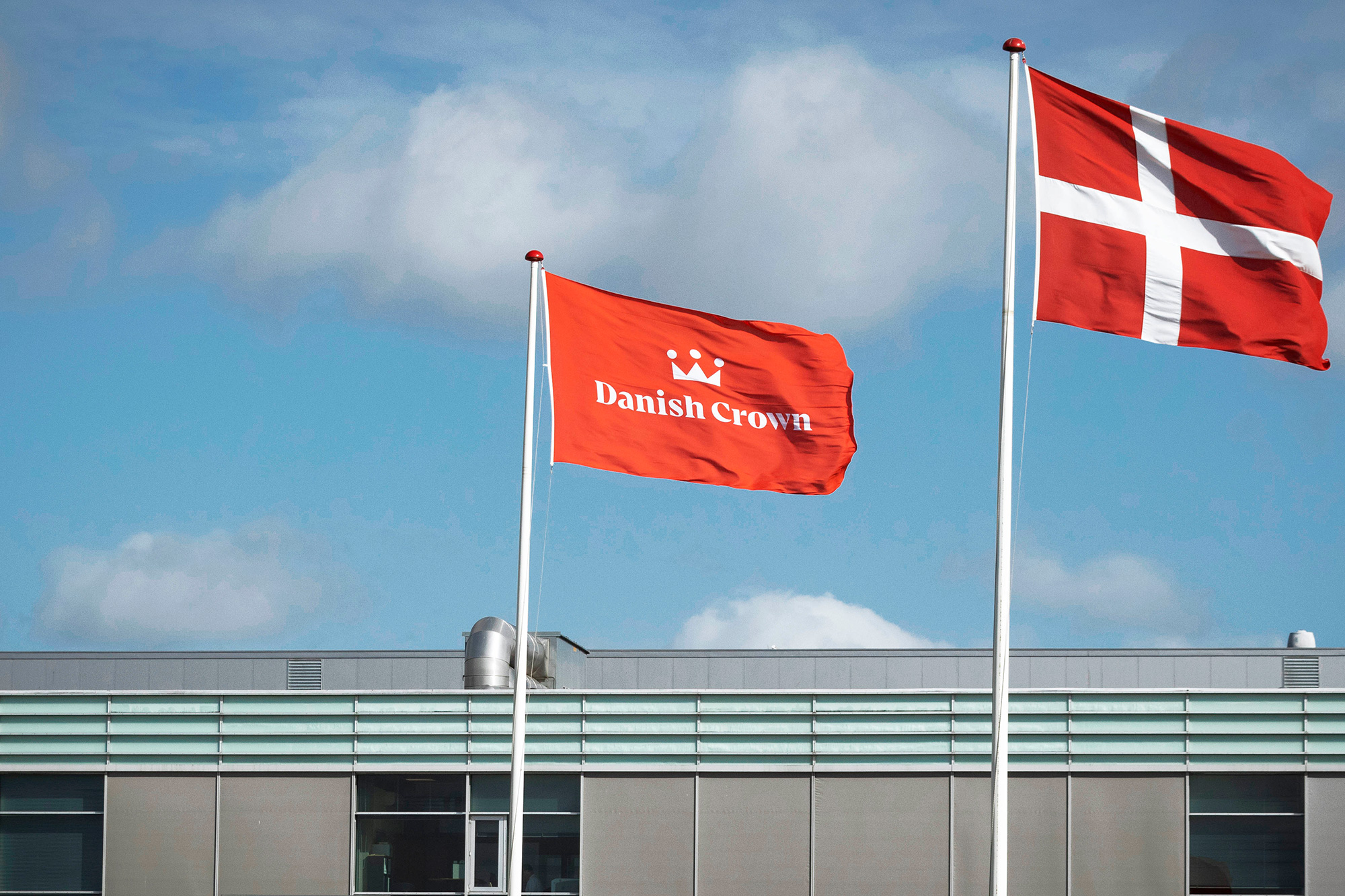 New Logo and Identity for Danish Crown by Kontrapunkt