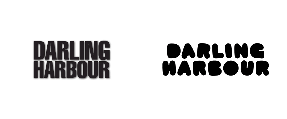 New Logo and Identity for Darling Harbour by Interbrand Australia