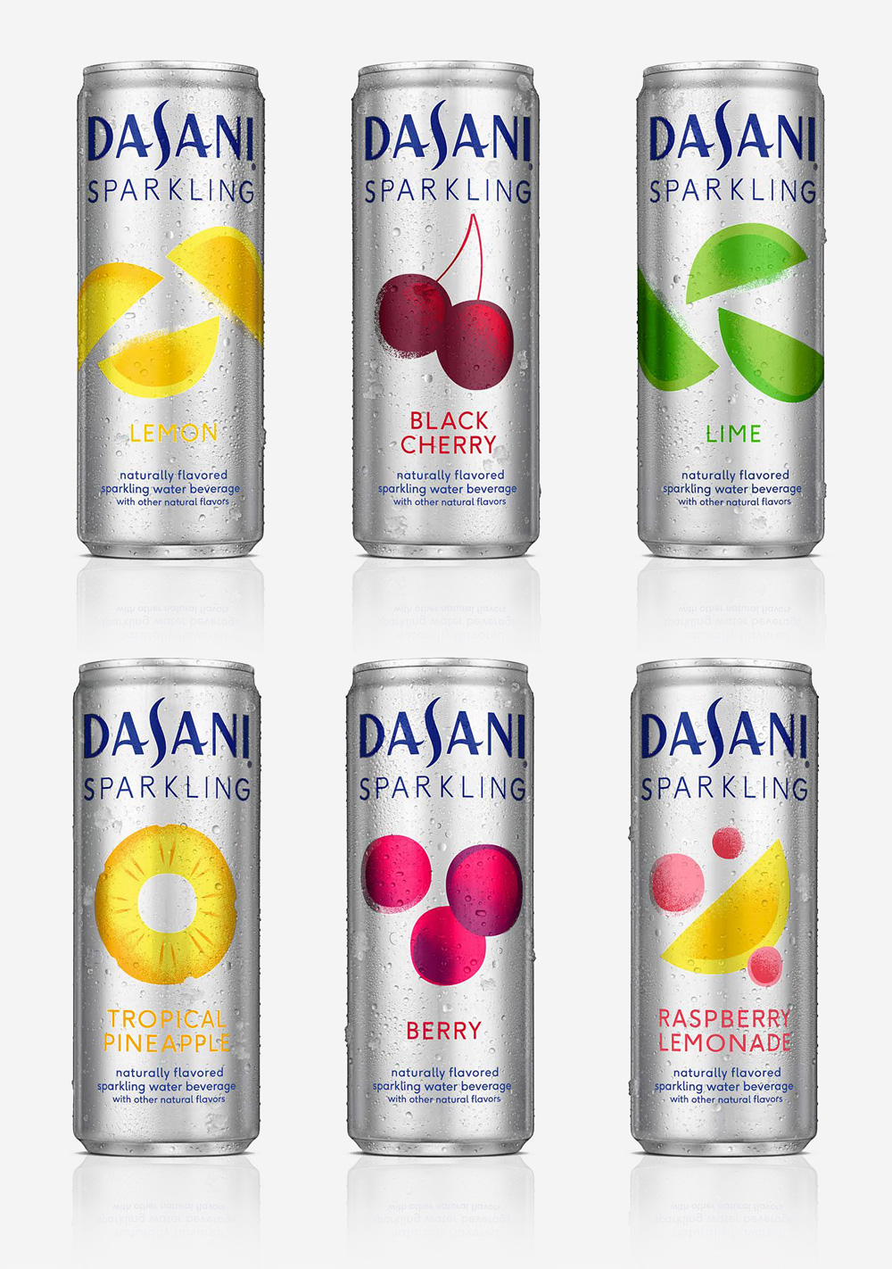 Brand New: New Logo and Packaging for Dasani Sparkling by ...