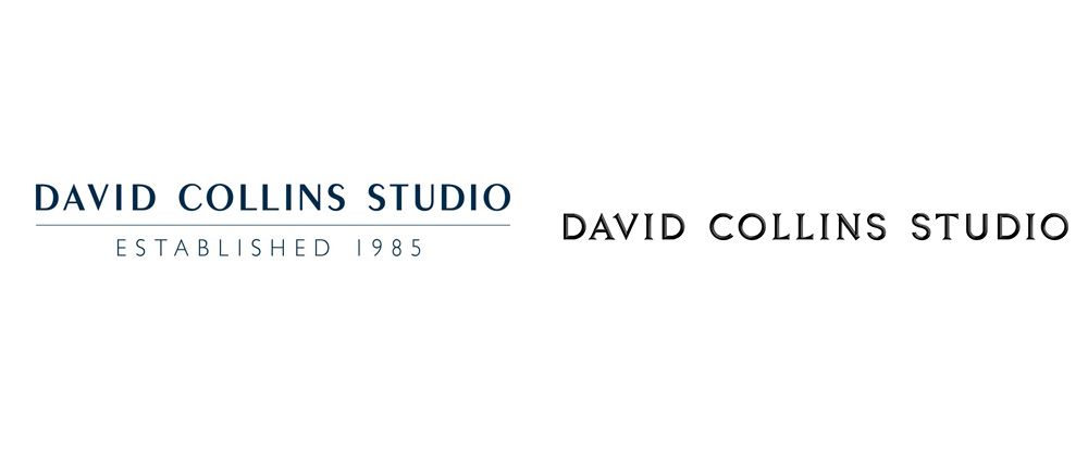 New Logo and Identity for David Collins Studio by Bibliothèque