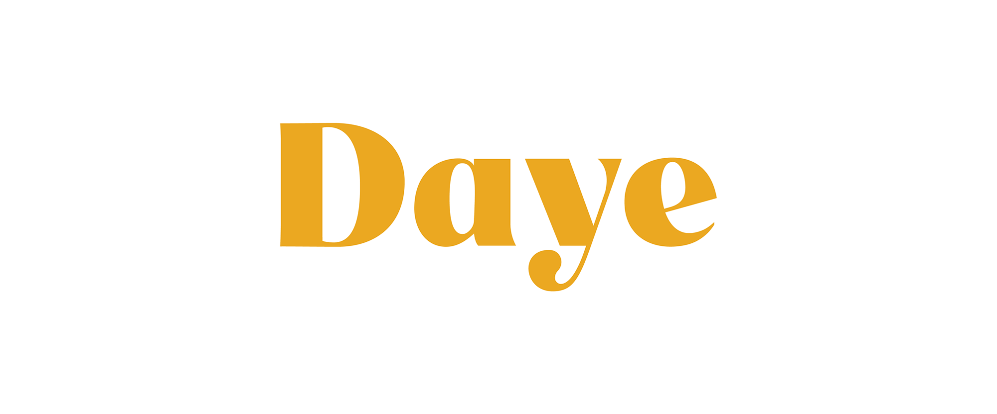 New Logo and Packaging for Daye done In-house