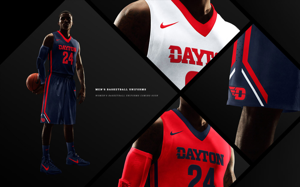 Brand New: New Logo for Dayton Flyers by 160over90,NBAJERSEYS_VRLIGXB372,