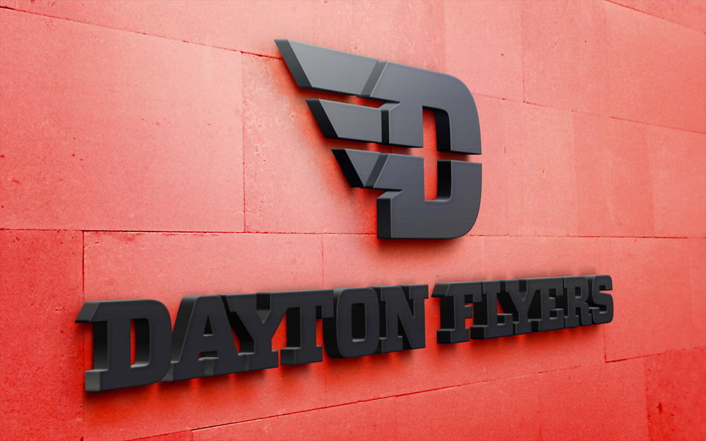 New Logo for Dayton Flyers by 160over90