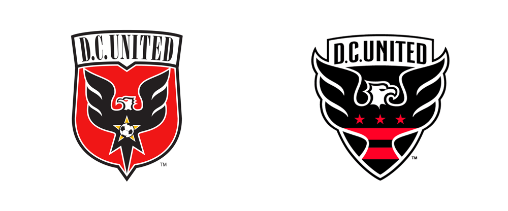 0d07ecf8b Brand New  New Logo for D.C. United by Red Peak Group