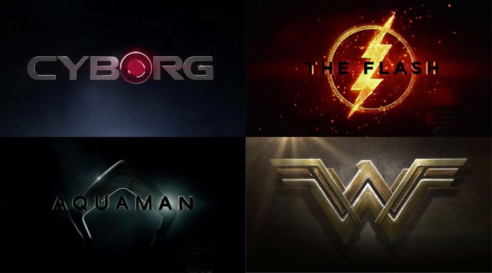 Brand New Dc Comics Movie Logos