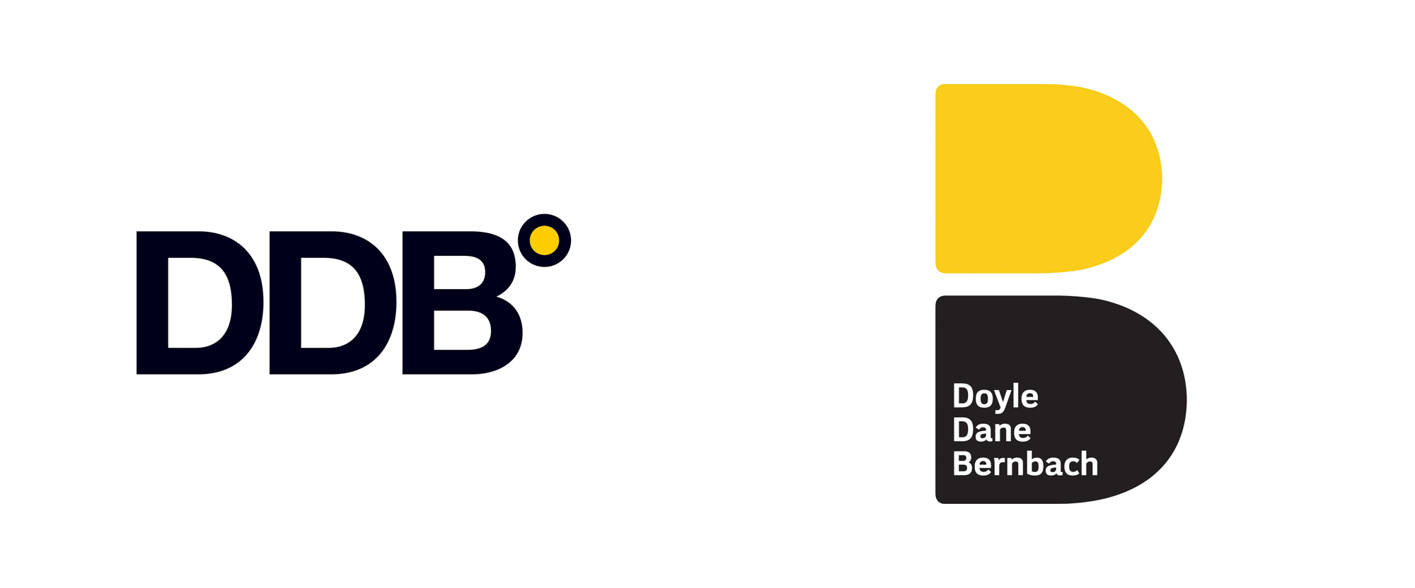 New Logo and Identity for DDB done In-house and with Ian Brignell