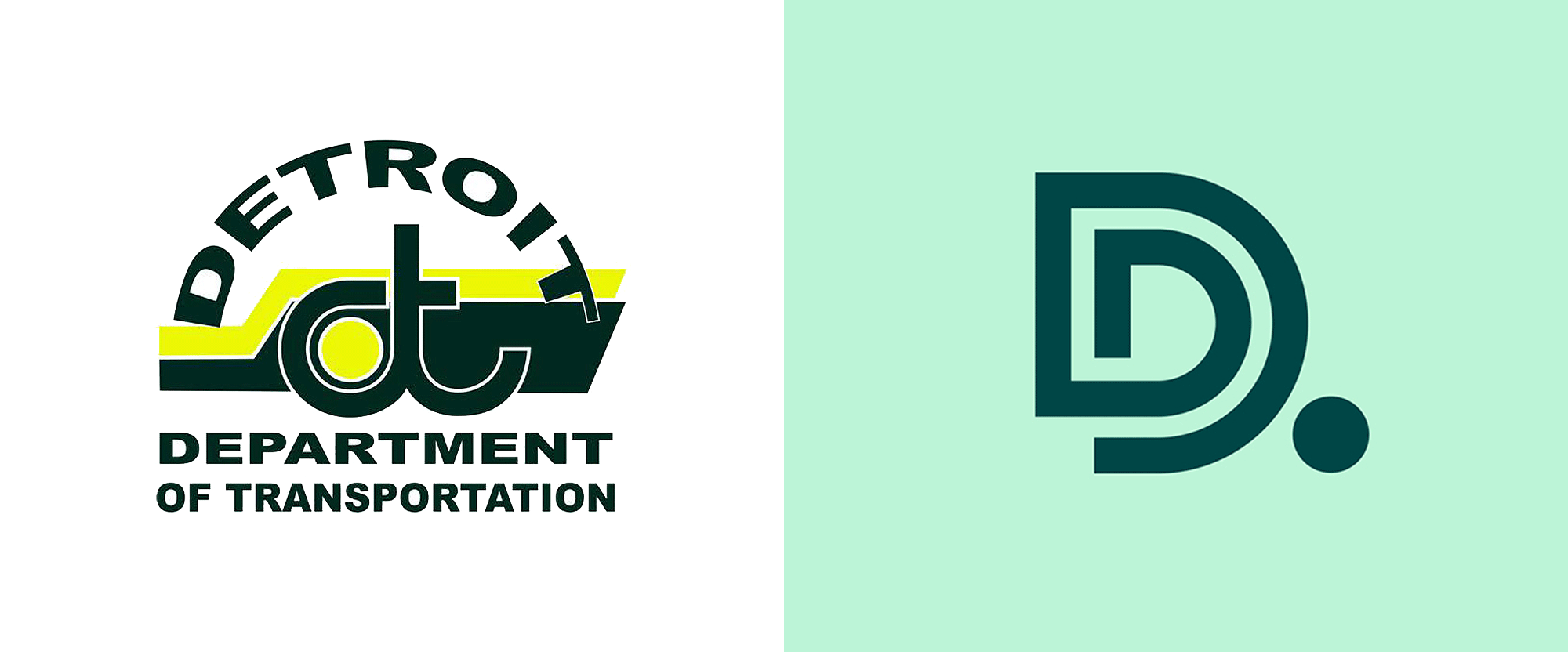 New Logo and Identity for Detroit Department of Transportation by Graham Clifford Design and Lafayette American
