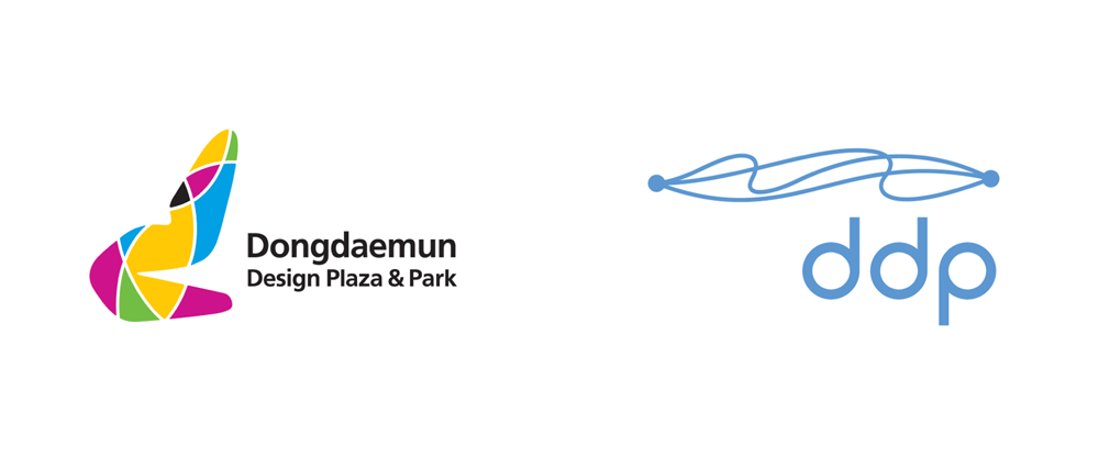 New Logo for Dongdaemun Design Plaza by Sam Partners and CDR associates