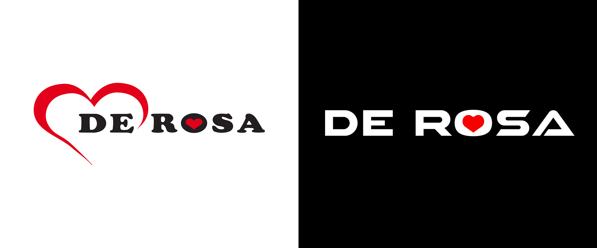 New Logo for De Rosa