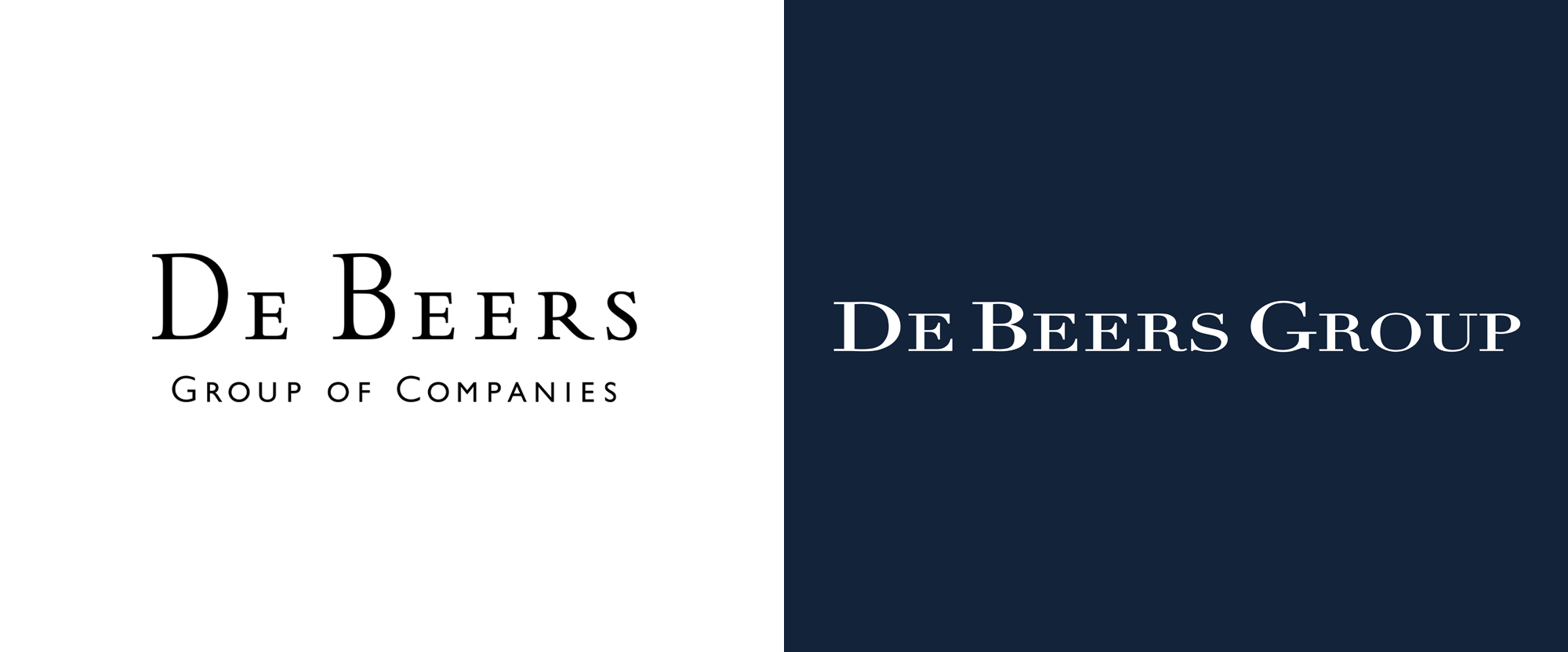 New Logo and Identity for De Beers Group by PW