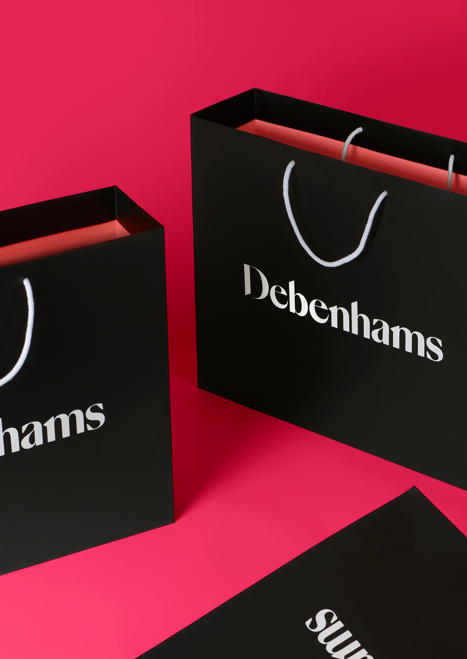 New Logo and Identity for Debenhams by Mother Design