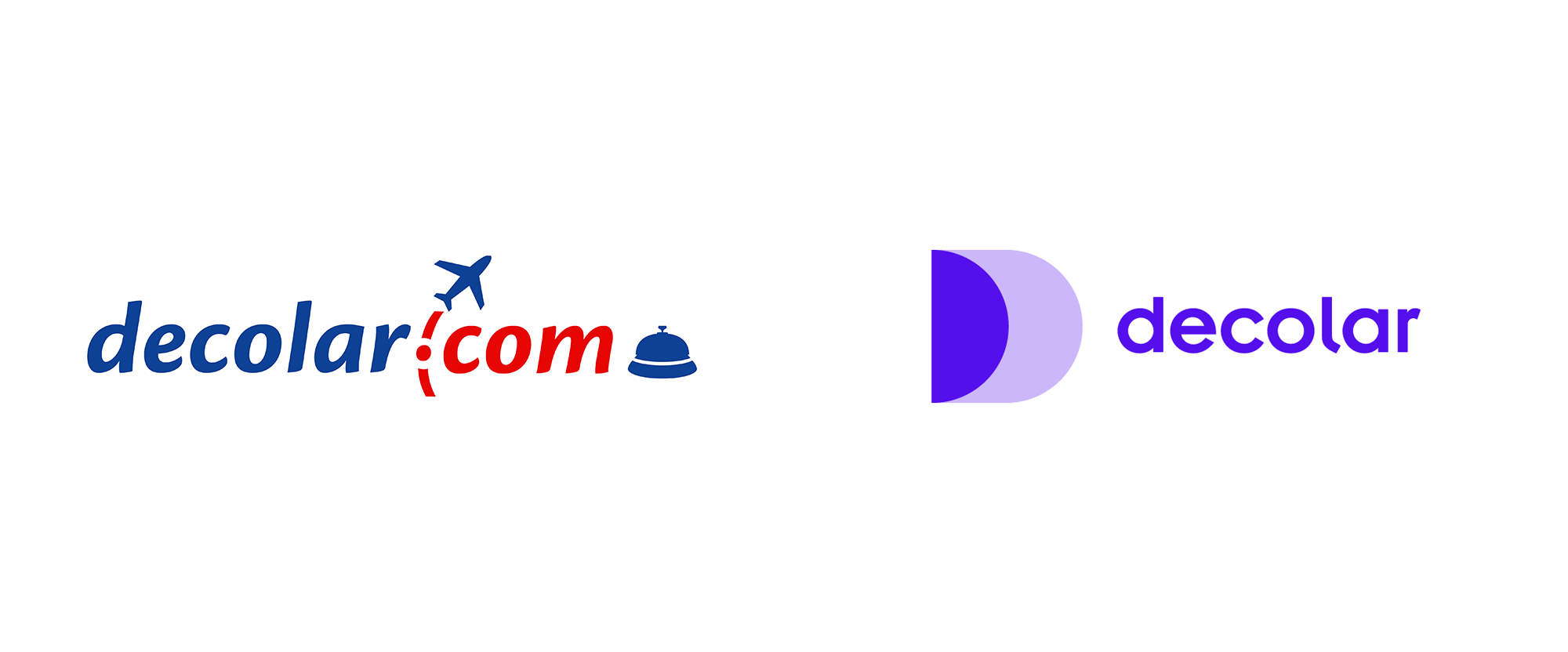 New Logo for Decolar by Saffron and REF+