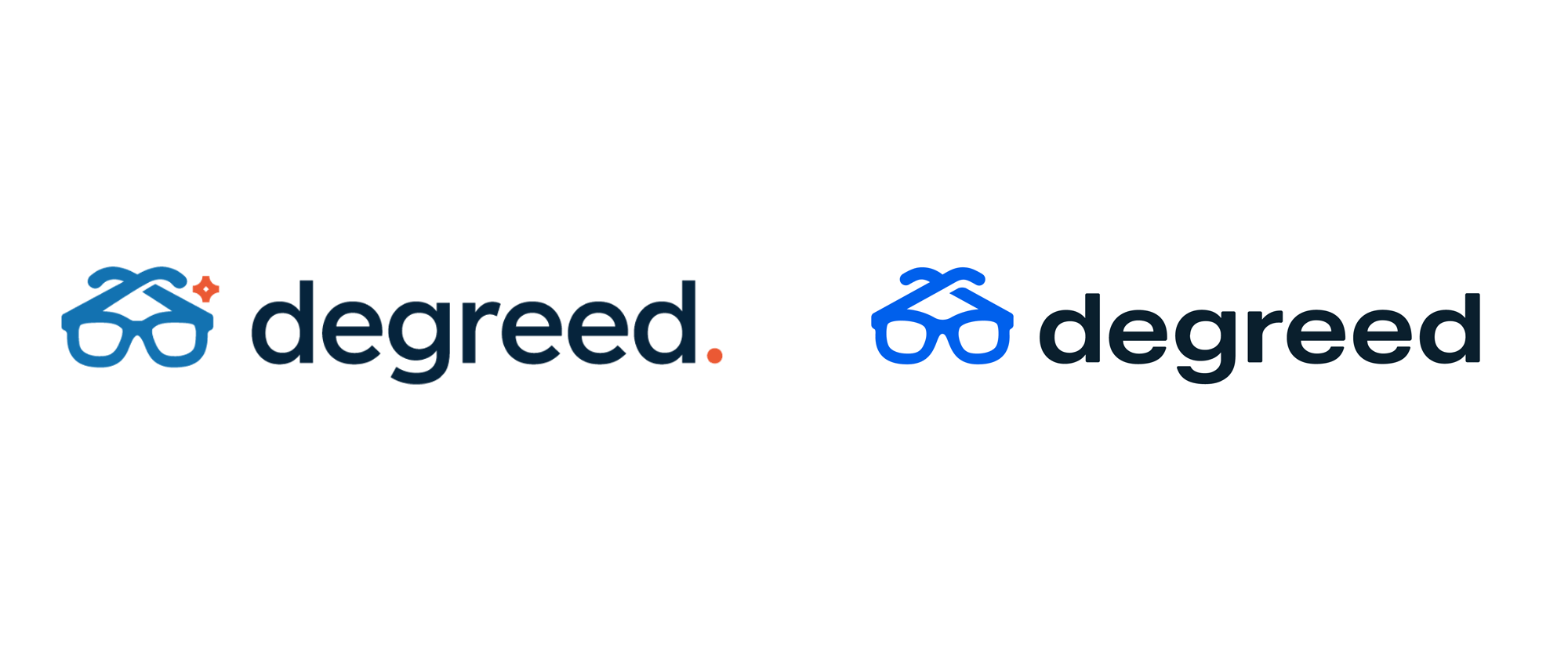 New Logo and Identity for Degreed done In-house