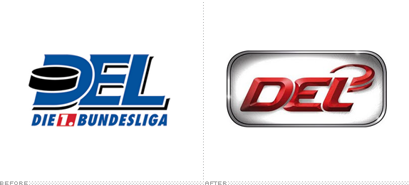 Deutsche Eishockey Liga Logo, Before and After