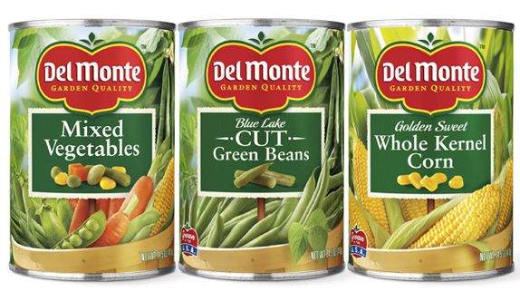 Del Monte Logo and Packaging