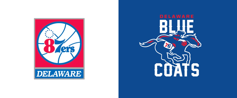 New Name and Logo for Delaware Blue Coats