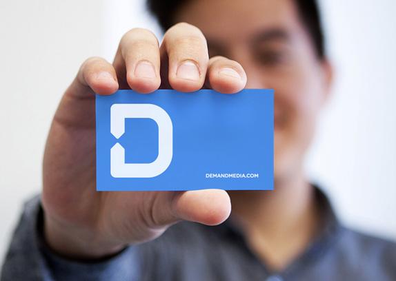 Demand Media Logo and Identity