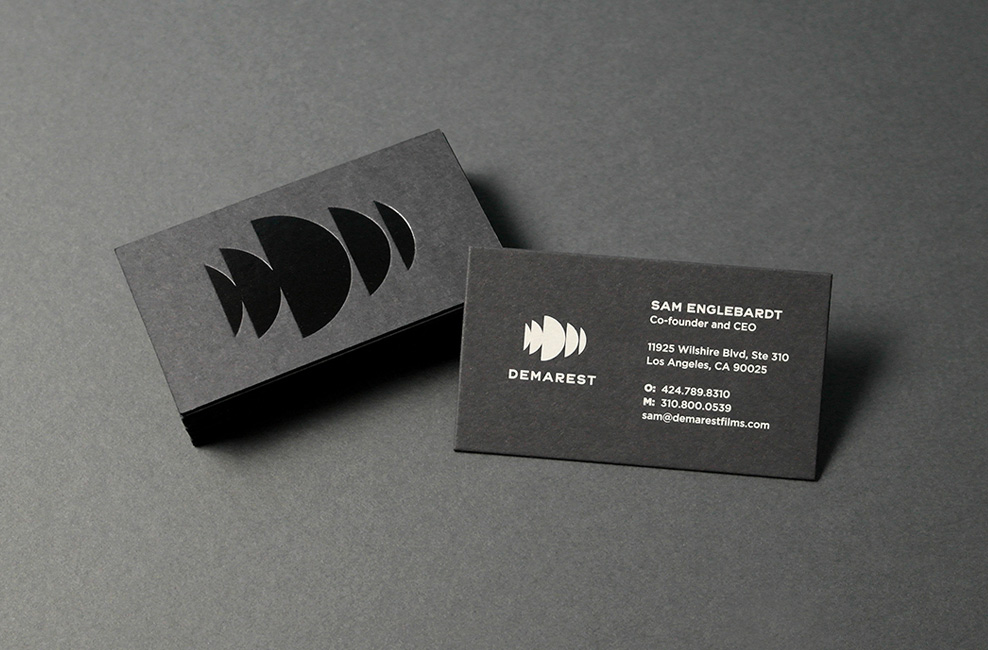 New Logo and Identity for Demarest by TRÜF Creative