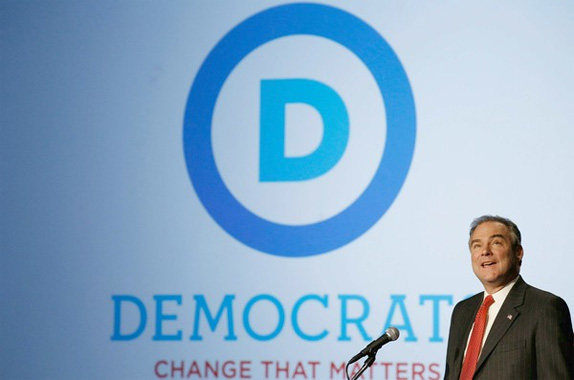 National Democratic Committee Logo, Before and After