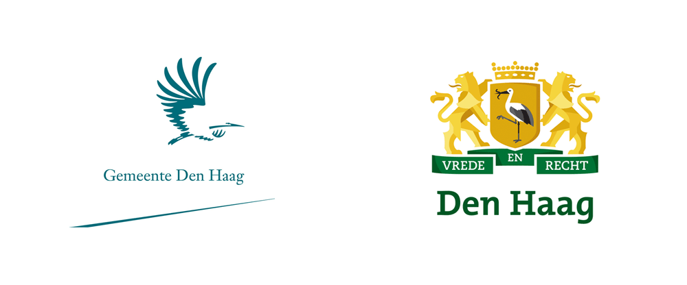 New Logo and Identity for The Hague by Ontwerpwerk