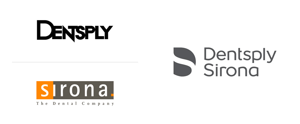 New Logo for Dentsply Sirona by Loop Associates and Quadric