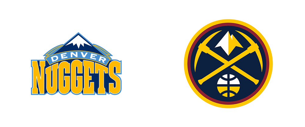 New Logos for Denver Nuggets