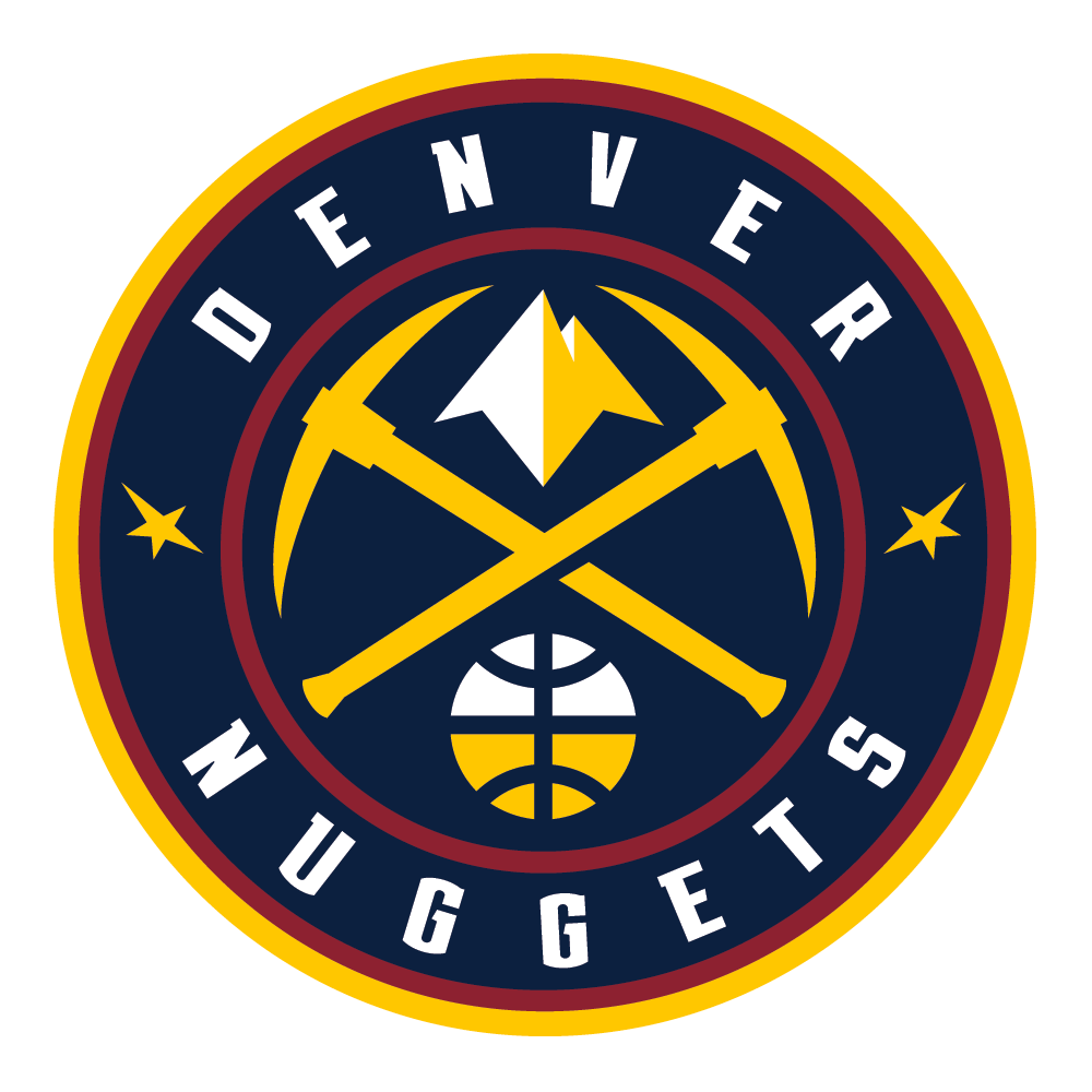 Denver Nuggets Quotes: Brand New: New Logos For Denver Nuggets