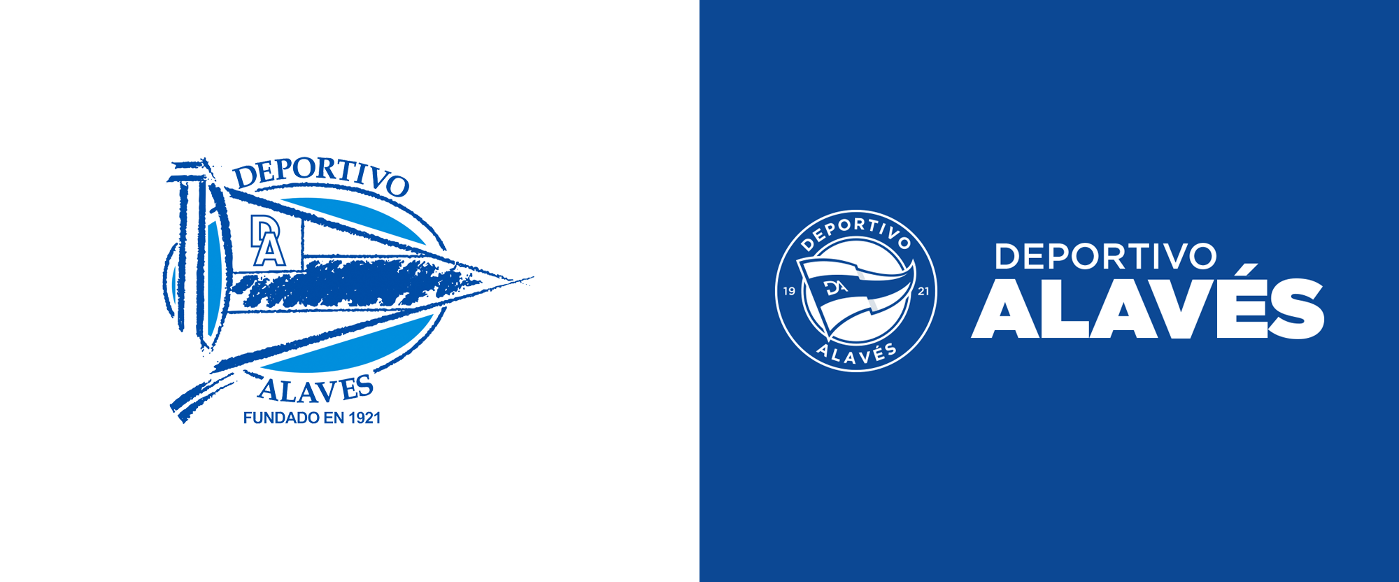 New Logo for Deportivo Alavés