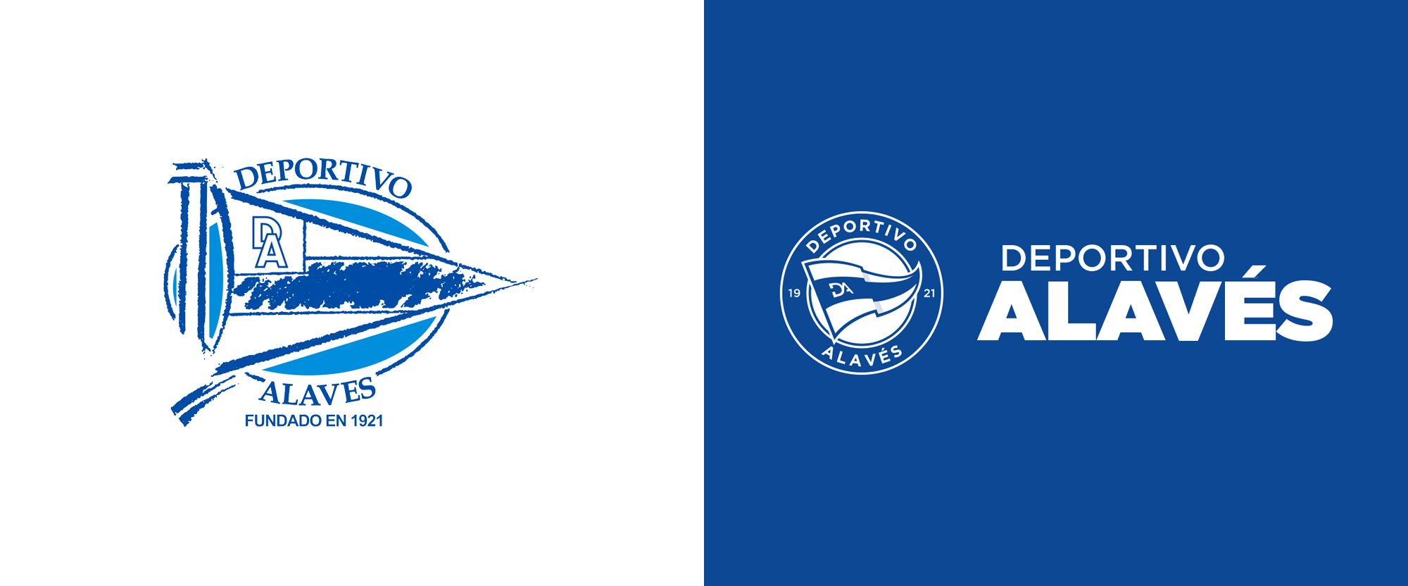 New Logo for Deportivo Alavés