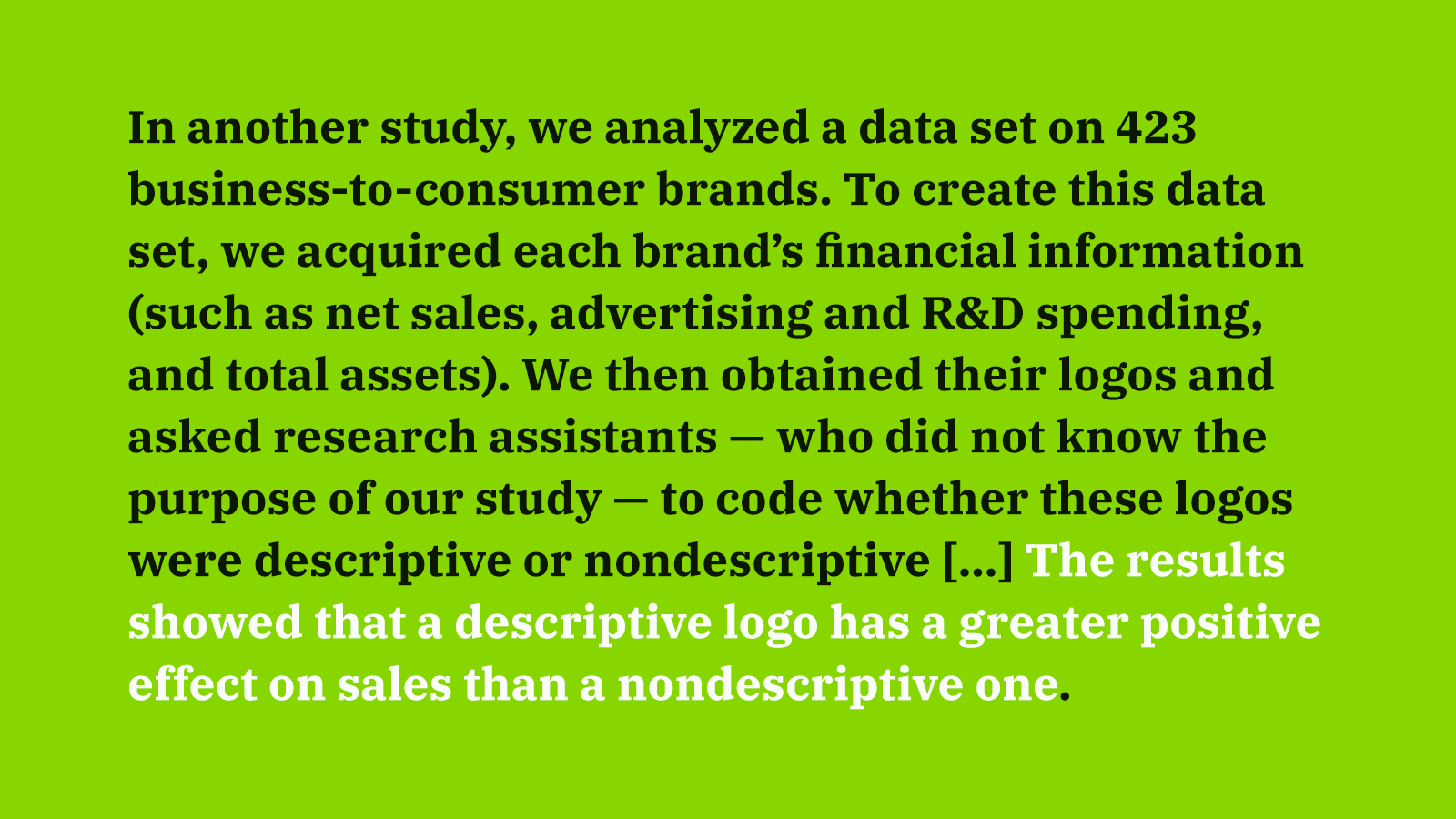 What Kind of Logo is More Effective?