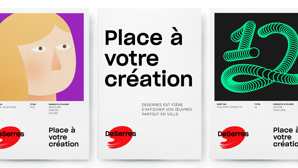 New Logo and Identity for DeSerres by lg2