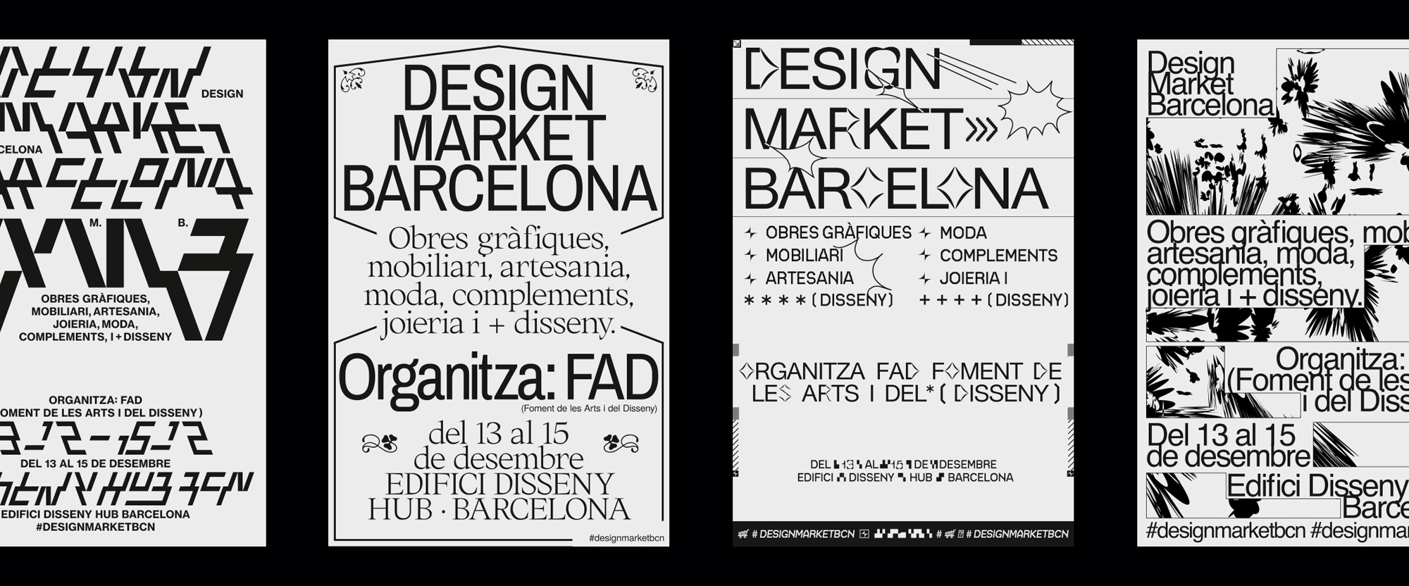New Identity for Design Market Barcelona by Naranjo-Etxeberria