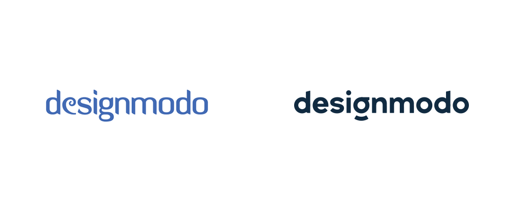 New Logo for Designmodo done In-house with Paul von Excite