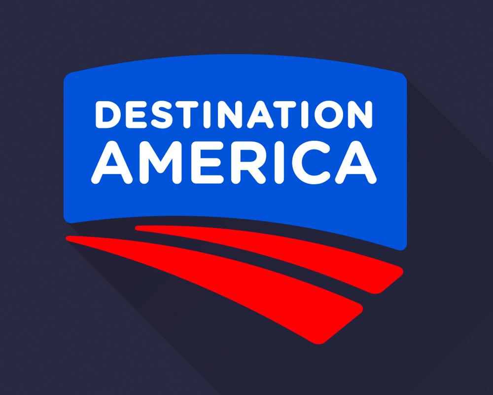 New Logo and On-air Look for Destination America by Ferroconcrete
