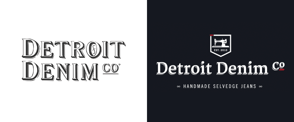 New Logo and Identity for Detroit Denim Co. by Who's That?