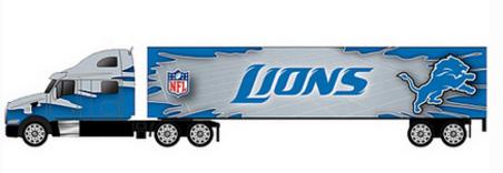 Detroit Lions Toy Truck