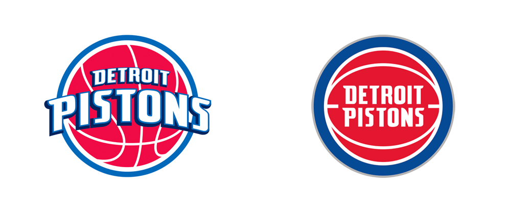 Brand New New Logo for Detroit Pistons