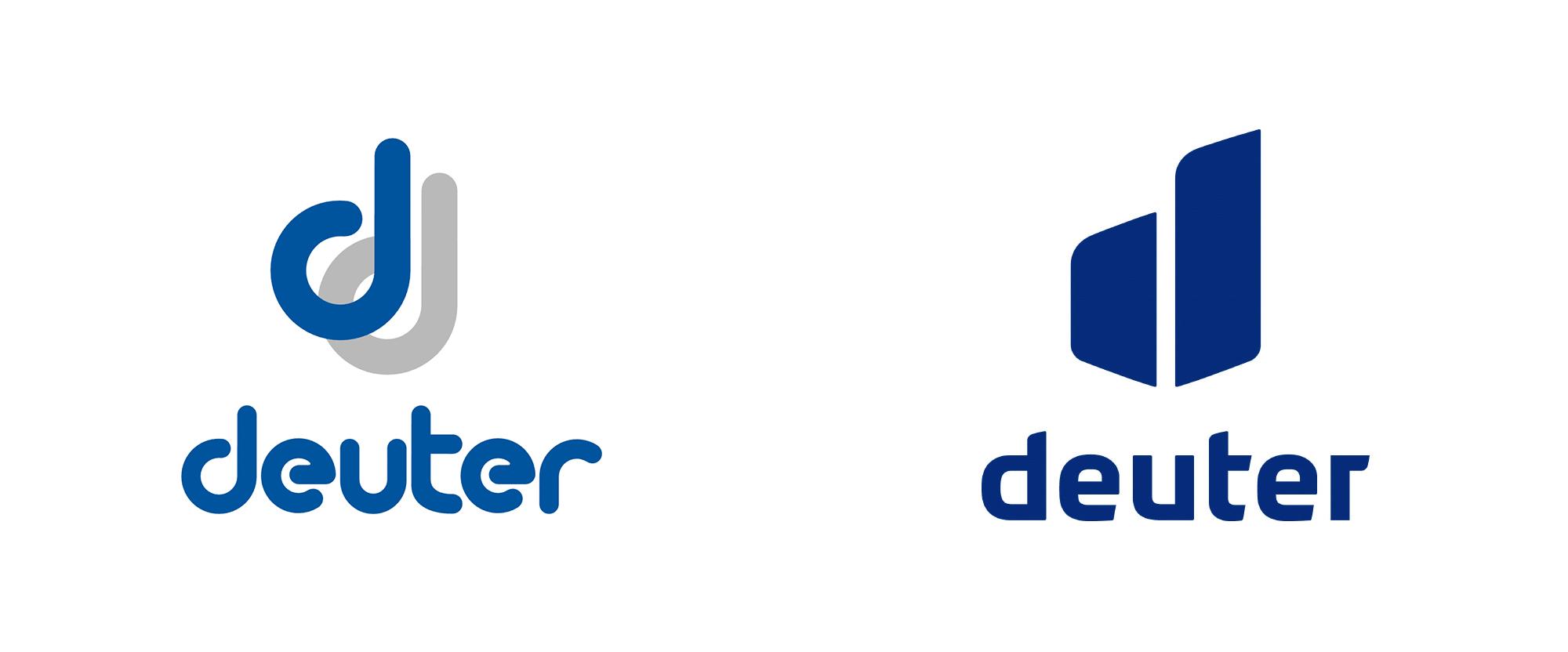 New Logo for Deuter by Zeichen & Wunder