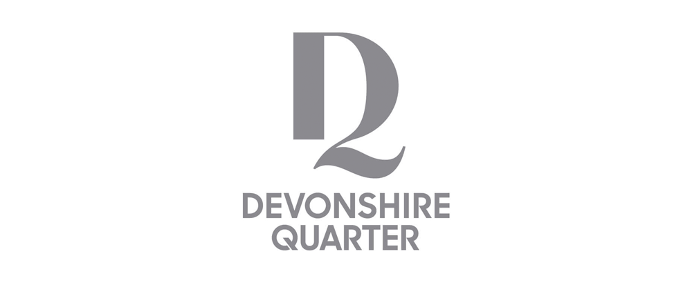 New Logo and Identity for Devonshire Quarter by SomeOne