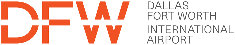 New Logo and Identity for DFW by Interbrand
