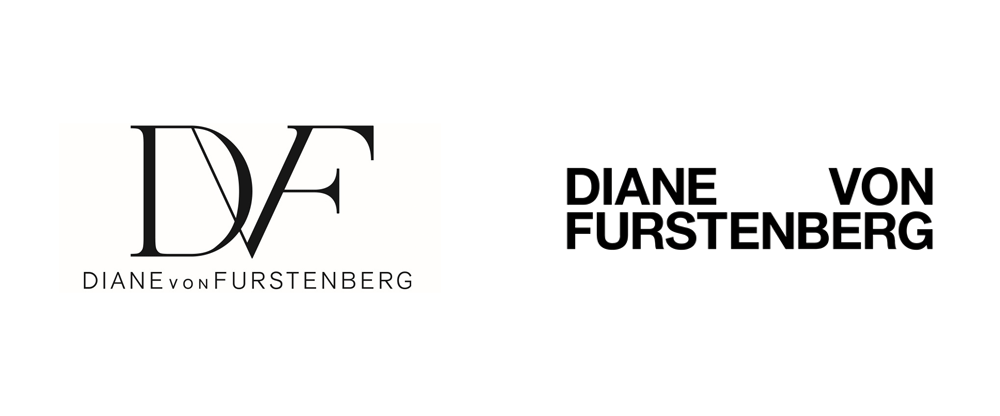 New Logo for Diane von Furstenberg by Jonny Lu Studio