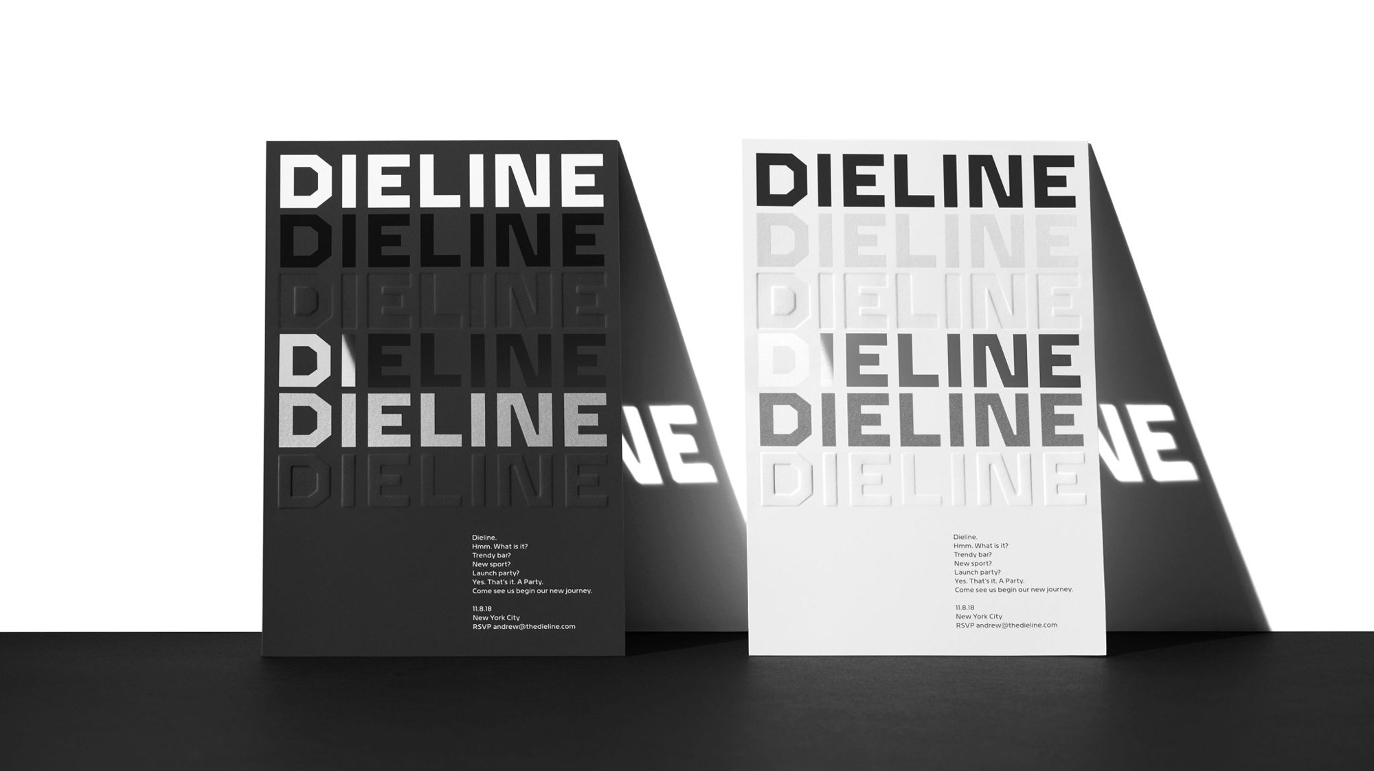 New Logo and Identity for Dieline by Jones Knowles Ritchie