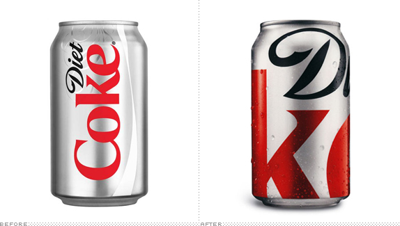 Diet Coke Can, Before and After