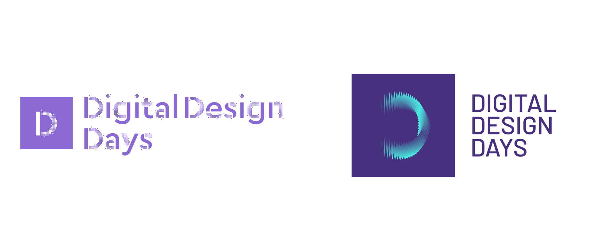New Logo and Identity for Digital Design Days by jekyll & hyde