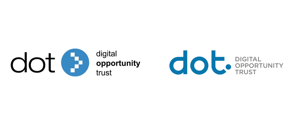 New Logo and Identity for Digital Opportunity Trust by argodesign